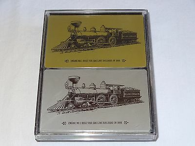 1984 Soo Line Railroad Playing Card 100 Anniversary of Engine 1 Double Deck USA