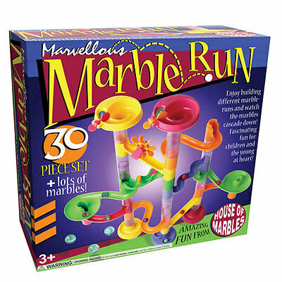 House of Marbles : 30 Piece Marble Run