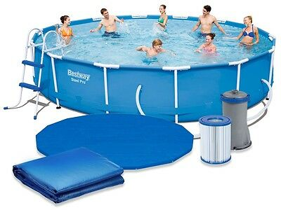 Bestway Swimming Pool 56598 427x84cm Swimming Pool Frame Swimming Pool Set #3584