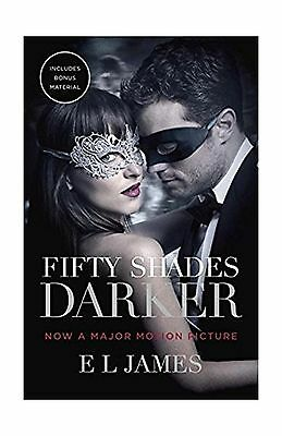 Fifty Shades Darker (Movie Tie-in Edition): Book Two of the Fif... Free Shipping