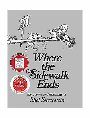 Where the sidewalk ends poems and drawings new free shipping where the sidewalk ends special edition with 12 extra poems po free fandeluxe Choice Image
