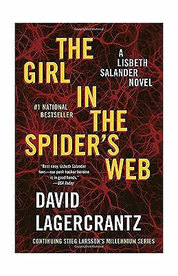 The Girl in the Spider's Web: A Lisbeth Salander novel continui... Free Shipping