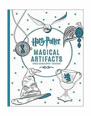 Harry Potter Magical Artifacts Coloring Book Free Shipping