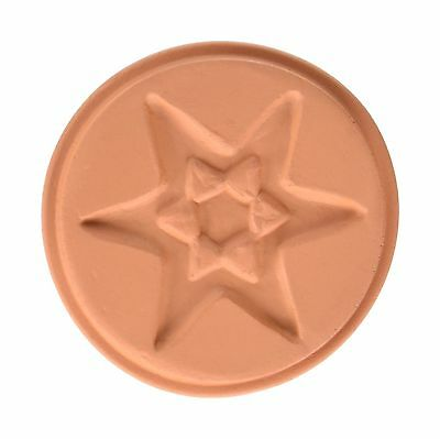 JBK Pottery Cookie Stamp Set - Sky Free Shipping