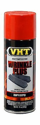 VHT ESP204007 Wrinkle Plus Coating Red Can - 11 oz. Free Shipping