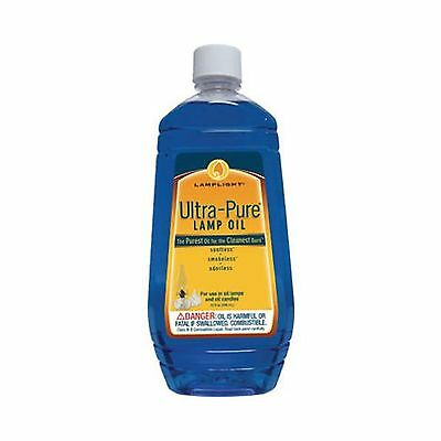 Lamplight 60011 32-Ounce Ultra-pure Lamp Oil Blue Free Shipping