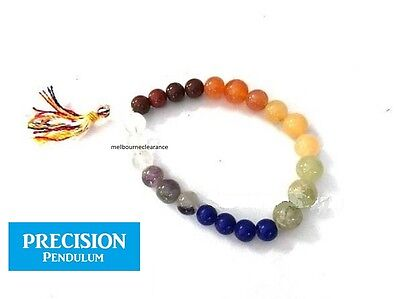 Chakra 8mm Beads Stretch Power Healing Bracelet Protection Gemstone Crystal