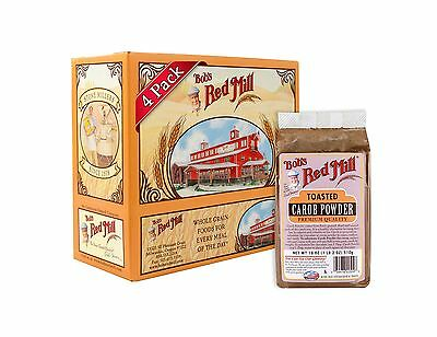 Bob's Red Mill Carob Powder Toasted 18 Ounce (Pack of 4) 18 Oun... Free Shipping