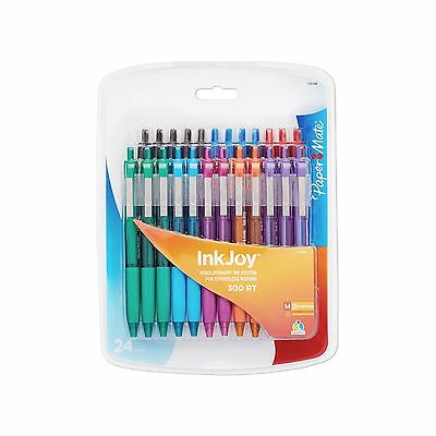 Paper Mate InkJoy 300RT Retractable Ballpoint Pen Medium Point ... Free Shipping