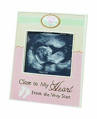 "Lillian Rose Ultrasound Frame Close To My Heart 5.5"" x 6.5"" 5.5... Free Shipping"