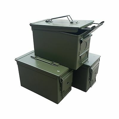 Fat 50 Cal Ammo Can Grade 1 (3 Pack) Free Shipping