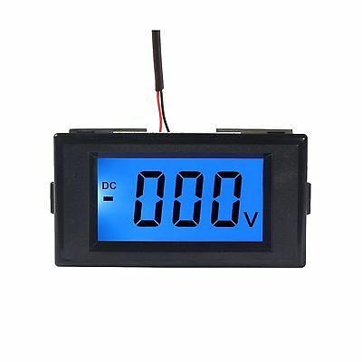 DROK Digital Voltmeter Gauge DC 0-600V Voltage Meter Gauges Pow... Free Shipping