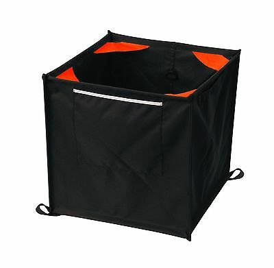 Weaver Leather Throw Line Storage Cube Black/Orange Free Shipping