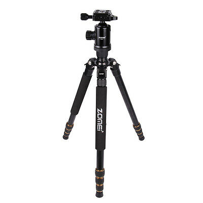 AF ZOMEI Z688 Tripod Magnesium Alloy Monopod with Ball Head for DSLR Camera