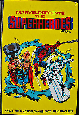 Marvel Presents The Superheroes Annual