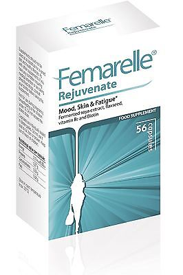 Femarelle Rejuvenate Nutritional Support Peri-Menopause 56 Caps (Pack of 4)