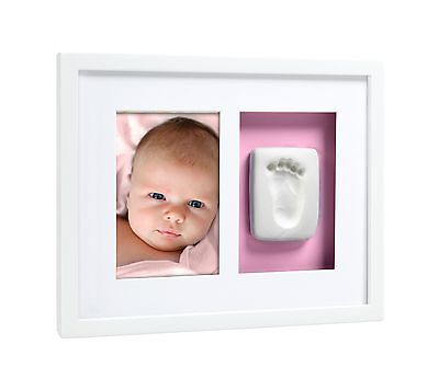 Pearhead Babyprints Baby Handprint or Footprint Wall Photo Fram... Free Shipping