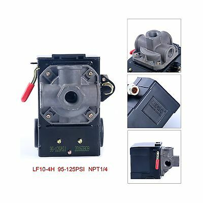 Lefoo Quality Air Compressor Pressure Switch Control 95-125 PSI... Free Shipping