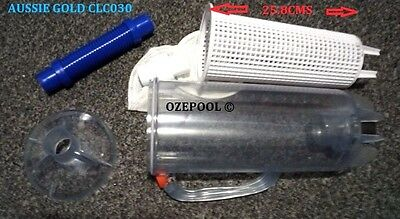 Leaf Canister - Swimming Pool Cleaner, Traps Leaves & Debris Before Pump Clc030