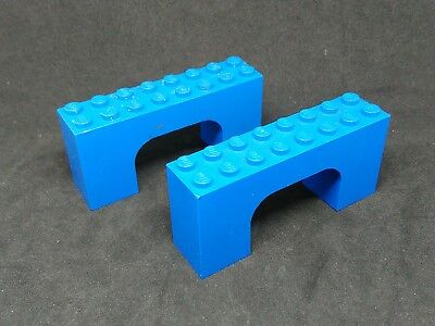 Lego Arches 2x8x3 4743 Red x2