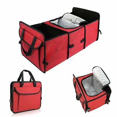 Big Ant Car Trunk Organizer - Cooler Storage for Auto Front & Back Seat