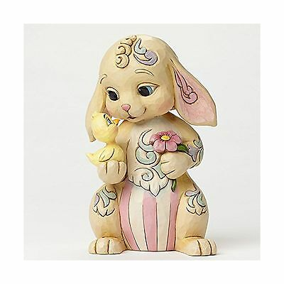 Jim Shore Rabbit with Chick Figurine Free Shipping