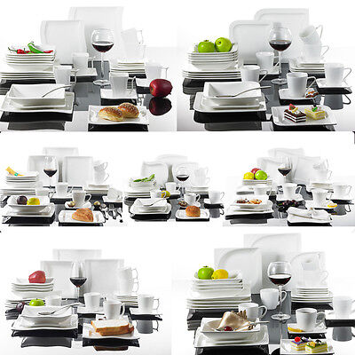 30X Ceramic Porcelain China Dinner Service Set Home Kitchen Tableware Cup Plates