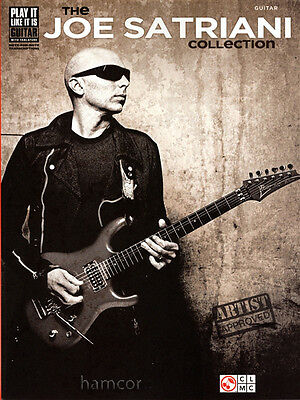 The Joe Satriani Collection Guitar TAB Book Sheet Music Tablature Transcriptions