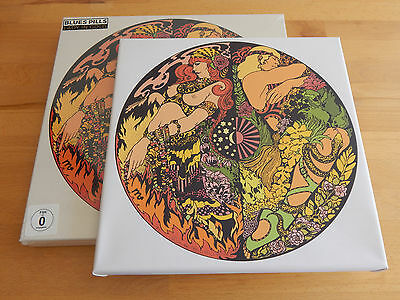 BLUES PILLS - Lady In Gold BOX SET w/ Artwork In Canvas LIMITED 400copies SEALED