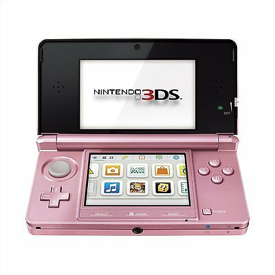 Nintendo Handheld Console 3DS - Coral Pink - New & Sealed