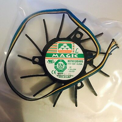 Protechnic MGT6012XB-W10 Graphics card Fan DC12V 0.23A 65X65X12mm 4wire