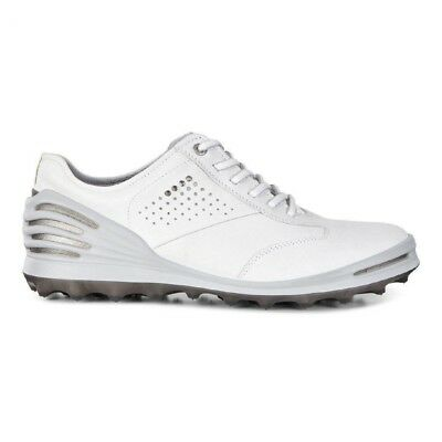 Ecco 2017 Cage Pro Spikeless Golf Shoes - White