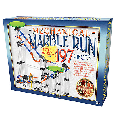 House of Marbles : 197 Piece Mechanical Marble Run