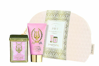 New MOR JOY Gift Set Marshmallow Duo - Hand Cream & Soapette Free Postage