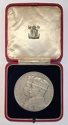 Great Britain 1935 Official Medal The Silver Jubilee The Reign Of George V
