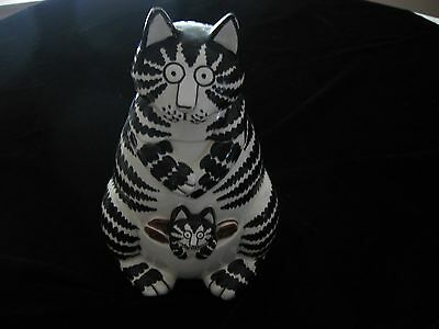 "B. Kliban ""Momcat"" Cookie Jar- Sigma The Tastesetter"
