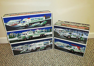 Vintage Hess Truck lot of 5 1994 1995 1997 2003 2004 All New! Boxed! MIB