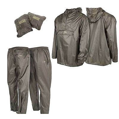 New Nash Tackle Packaway Waterproof Jackets / Trousers, All Sizes, Carp Fishing