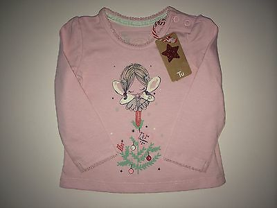 *Baby Clothes/ Baby Girls Christmas Top 0/3 Months* (Save & Combine Postage)