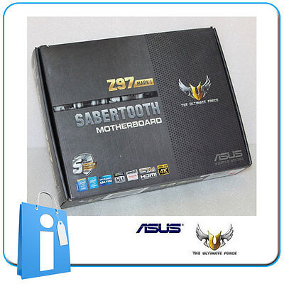 Placa base ATX ASUS Z97 Sabertooth MARK 1 Socket 1150 con Accesorios