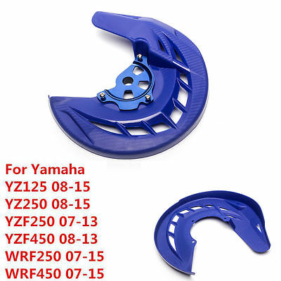 Front Brake Disc Rotor Guard Cover For Yamaha YZ125 YZ250 YZ250F YZ450F WR450F T
