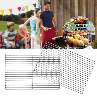 2×30 * 45cm STAINLESS STEEL BRICK BBQ CHARCOAL OR GAS REPLACEMENT COOKING GRILL