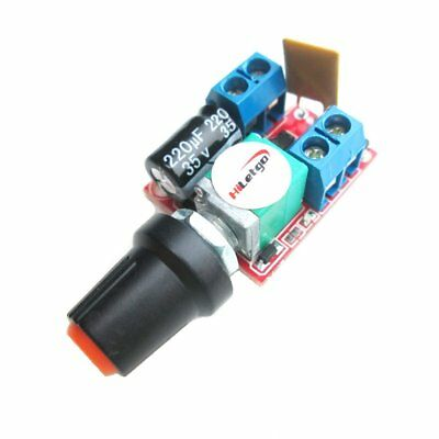 Mini DC 5A Motor PWM Speed Controller DC 3V-35V Speed Control Switch LED Dimmer