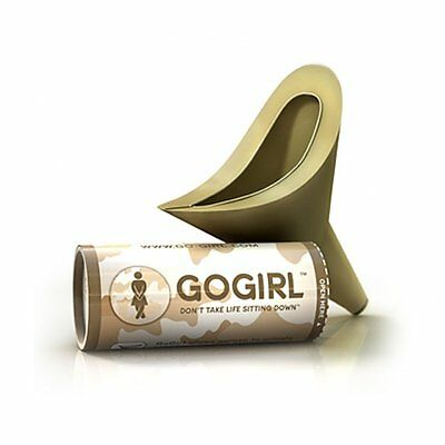 Go GIRL Female Urination Device FUD,  Khaki Camo