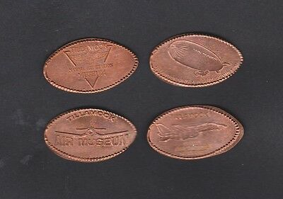 Retired Tillamook Naval Air Station Museum Elongated Penny Set, Oregon