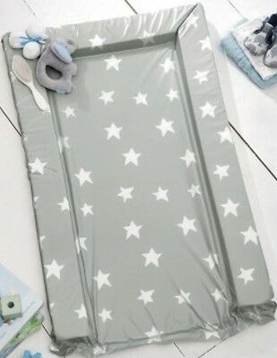 Next Little Star Changing Mat Baby Nursery Grey White New
