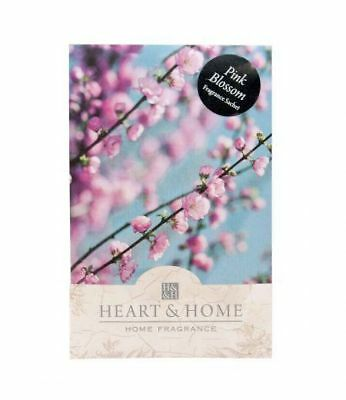 Heart and Home Pink Blossom Large Scented Fragrance Sachet with Hanger