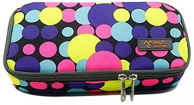 Pencil Case With Two Zippers Pen Bag Large Capacity Oxford Pencil Holder With