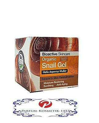 Dr. Organic Snail GEL Face & Body 50 ml Bio NEU & OVP