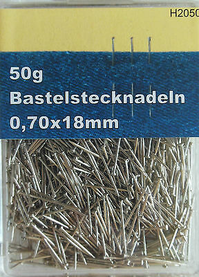 Craft pushpins Bastel Pins 18 mm 50 gr. approx. 800 Piece